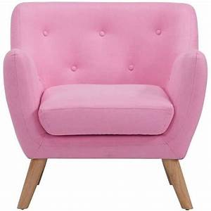 Scandi fauteuil design scandinave tissu rose achat for Fauteuil design rose