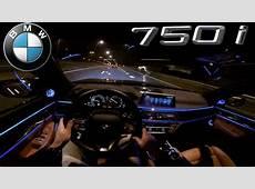 POV BMW 7 Series NIGHT DRIVE INTERIOR LIGHTING YouTube