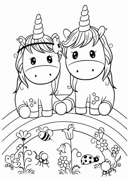 Colorear Unicornio Coloring Kawaii Unicorn Imprimir Pintar