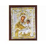 Theotokos Odigitria 24k Swarovski Crystals Orthodox Greek