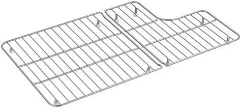 kohler sink rack whitehaven kohler k 6449 st stainless steel whitehaven basin rack