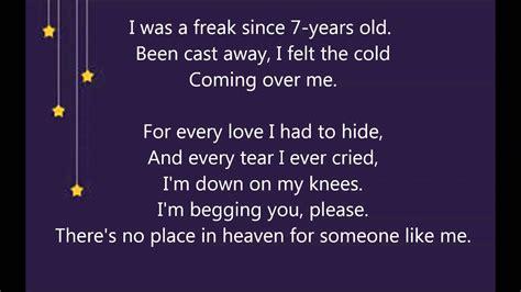 place  heaven mika lyrics youtube