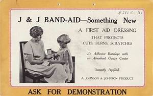 The Band-Aid - Inventions of the 1920's