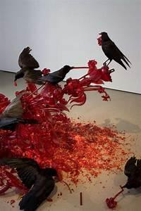 Morbid Animal Flesh Sculptures : glass artwork
