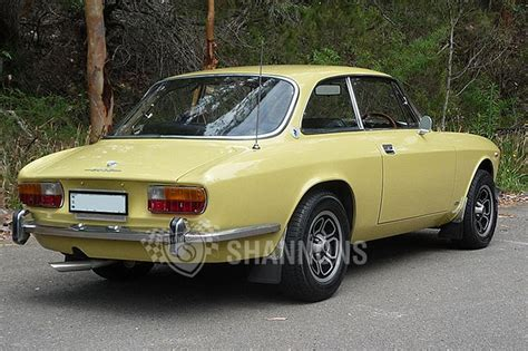 Alfa Romeo 2000 Gtv by Sold Alfa Romeo Gtv 2000 Coupe Auctions Lot 17 Shannons