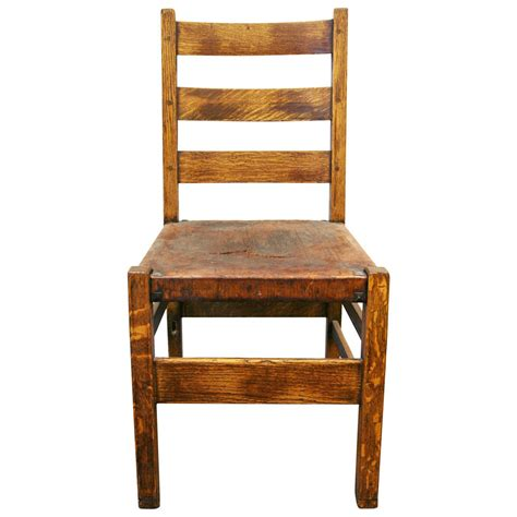 gustav stickley chair at 1stdibs