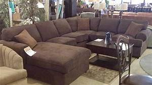 Latest trend of deep seated sofas sectionals 61 for for Sectional leather couch edmonton