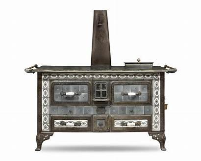 Stove Aisne Antique Nouveau Stored Heat Cook