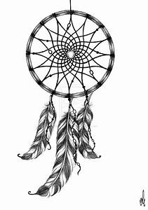 dreamcatcher tattoo design by rozthompsonart on deviantart With dream catcher tattoo template