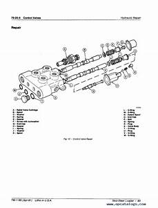 John Deere 60 Skid Steer Loader Technical Manual Tm1185