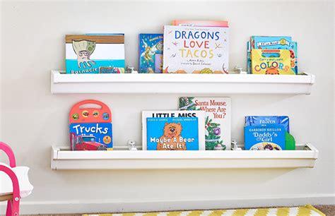 8 Innovative Designs For Rain Gutter Bookshelves Guide