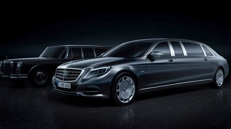 2016 Mercedes Maybach Pullman Wallpaper