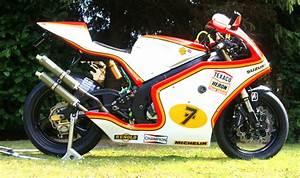 Racing Caf U00e8  Suzuki Rgv 250  U0393 1994  U0026quot Sheene Replica U0026quot
