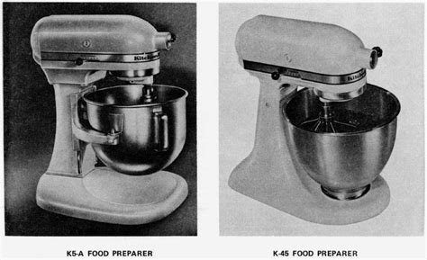 Kitchen Mixer Hobart by Link Kitchen Aid K45 Service Manual For Hobart Made