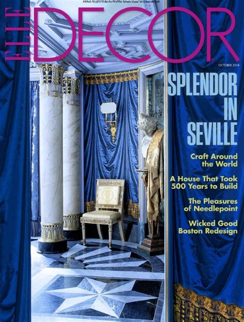 elle decor usa      uk journal