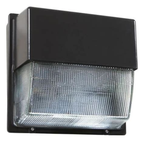 lithonia lighting outdoor bronze led wall pack 5000k twh