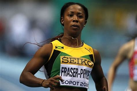 Running in an empty stadium in kingston at the joa/jaaa's destiny series, she decimated the field in the first of three heats from a rocket start, to finish ahead of former world championship finalist natasha morrison. New York Diamond League: Shelly-Ann Fraser-Pryce pulls out due to injury