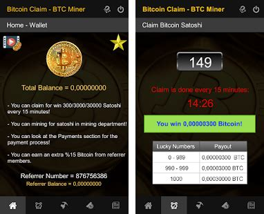 Bitcoin claims for free every 2 minute, with a minimum withdraw only 0.0009 btc. Bitcoin Free Claim - BTC Miner Apk Download latest android version 1.35- com.FSApps ...