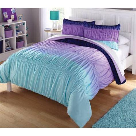 your zone bedding comforter set ombre walmart com