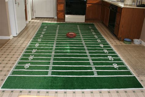 football field rug build the cave with these 5 awesome diys