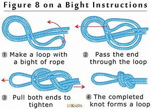 Firefighter Knot Tying Diagrams