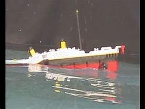 Lego Titanic 3.4 Photo Shoot - YouTube