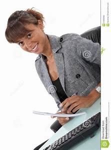 Happy Office Worker Royalty Free Stock Photo - Image: 37040405