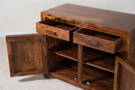 Indian Wood Sideboard by Solid Wood Sideboard Small Casa Sheesham Indian