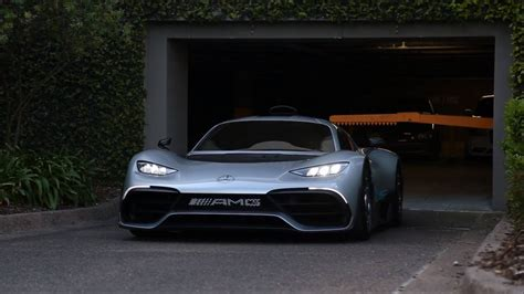 video mercedes amg project  surprins pentru prima