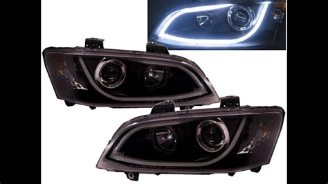 commodore ve   hsv projector headlight led drl