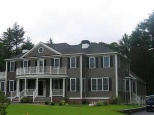 colonial home custom georgian colonial home hanover ma johnson construction co