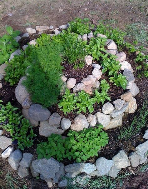 Diy Spiral Herb Garden  The Ownerbuilder Network