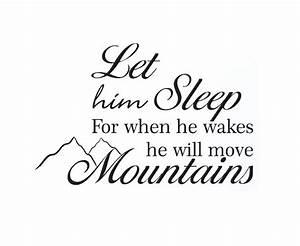 Sleeping Baby Q... Baby Boy Life Quotes