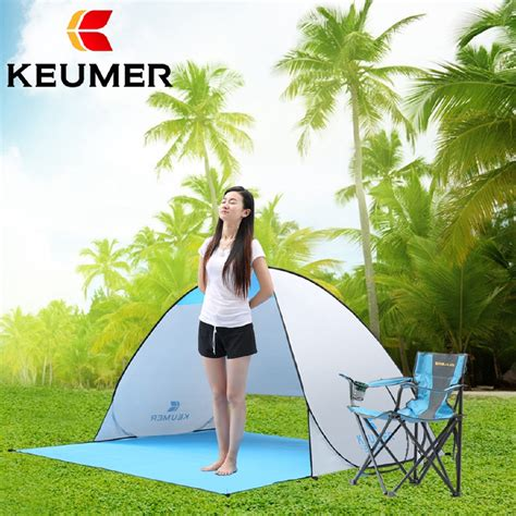 beach tent automatic packable camping tent uv protection pop  beach tent waterproof