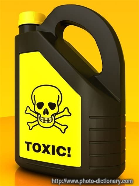 toxic poison photopicture definition  photo
