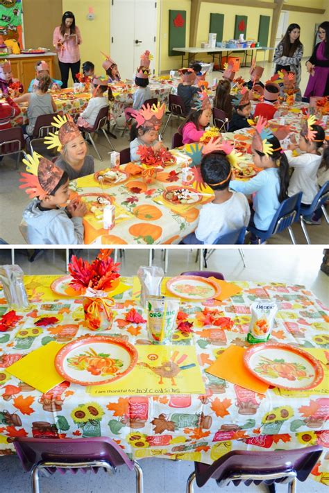 activities special events preschool amp daycare 690 | Joy Preschool Dublin California Thanksgiving Celebration
