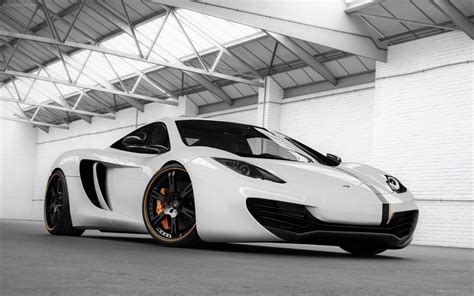 White Cars Drive Vehicles Tuning Wheels Performance Sport