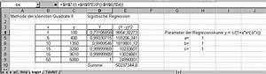 Absatzmenge Berechnen : methode der kleinsten quadrate mit excel ~ Themetempest.com Abrechnung