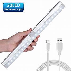 Led Licht Batterie : einfache montage bewegungsmelder nachtlicht 10 led schranklicht kleiderschrank ~ Watch28wear.com Haus und Dekorationen