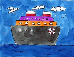 Ship  U00b7 Art Projects For Kids