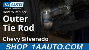 How To Install Replace Outer Tie Rod 2007