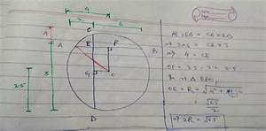 Chords Ab And Cd Of A Circle Intersect At E And Are