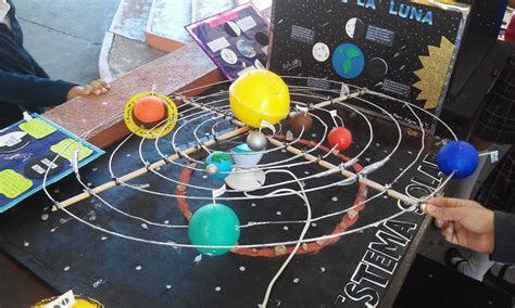 maquetas primaria sistema solar sexto grado grupo quot b quot maquetas sistema solar 2017