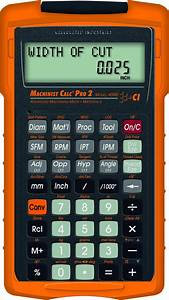 Calculated Industries Launching New Machinist Calc® Pro 2
