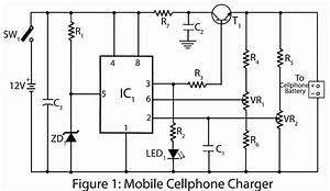 Mobile Cellphone Charger Circuit Diagram