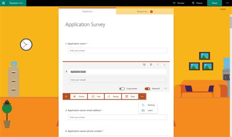 Office 365 Outlook Forms by Creating Surveys In Office 365 Microsoft Forms Vs