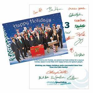 Custom Designed Holiday Card Belladia Marketing and Design