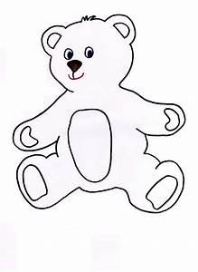 teddy bear templates clipart best With template for a teddy bear