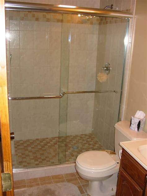 bathroom door ideas atlanta semi frameless shower doors patial framed