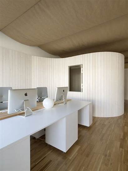 Wall Walls Modular Architecture Office Curved Bulging